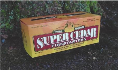 Super Cedar Firestarters